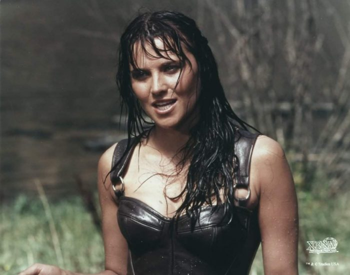 Xena: Warrior Princess wet