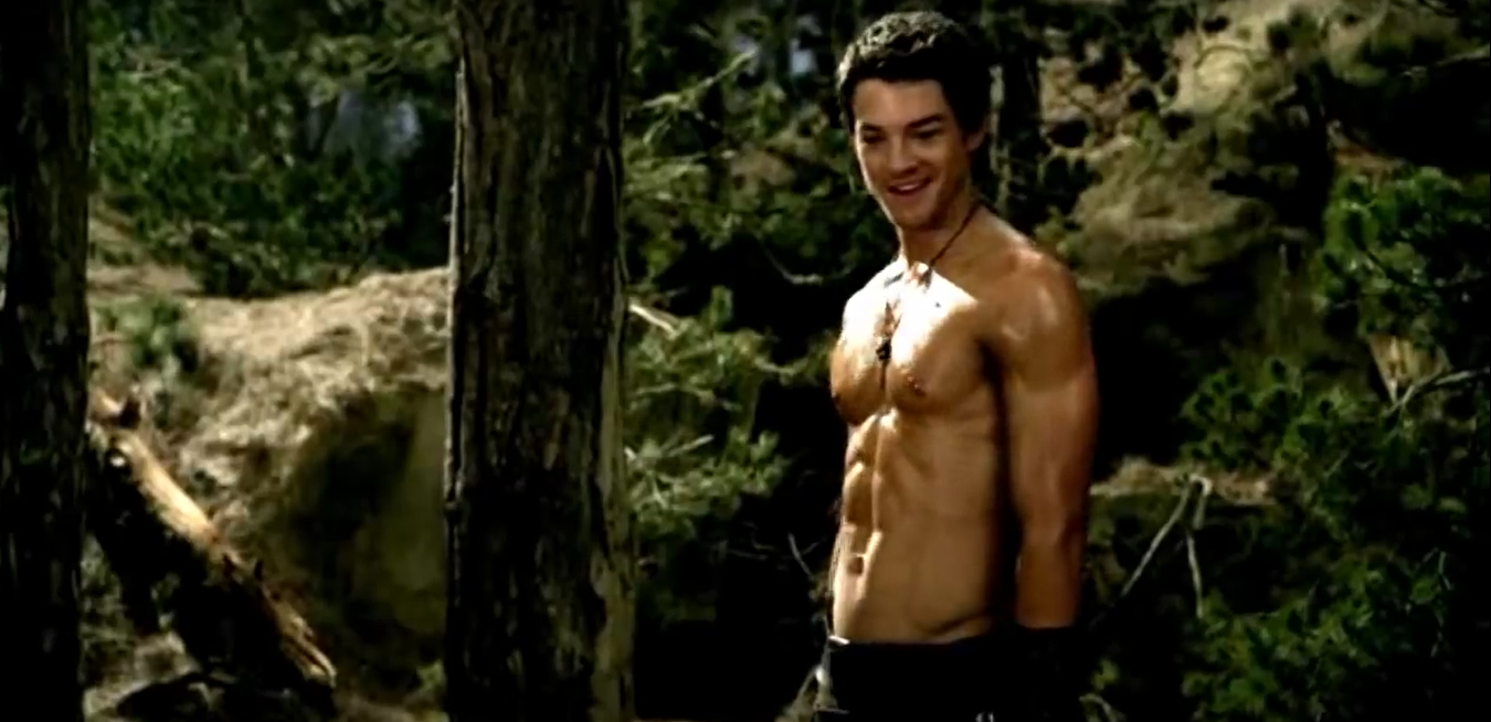 Craig Horner Shirtless