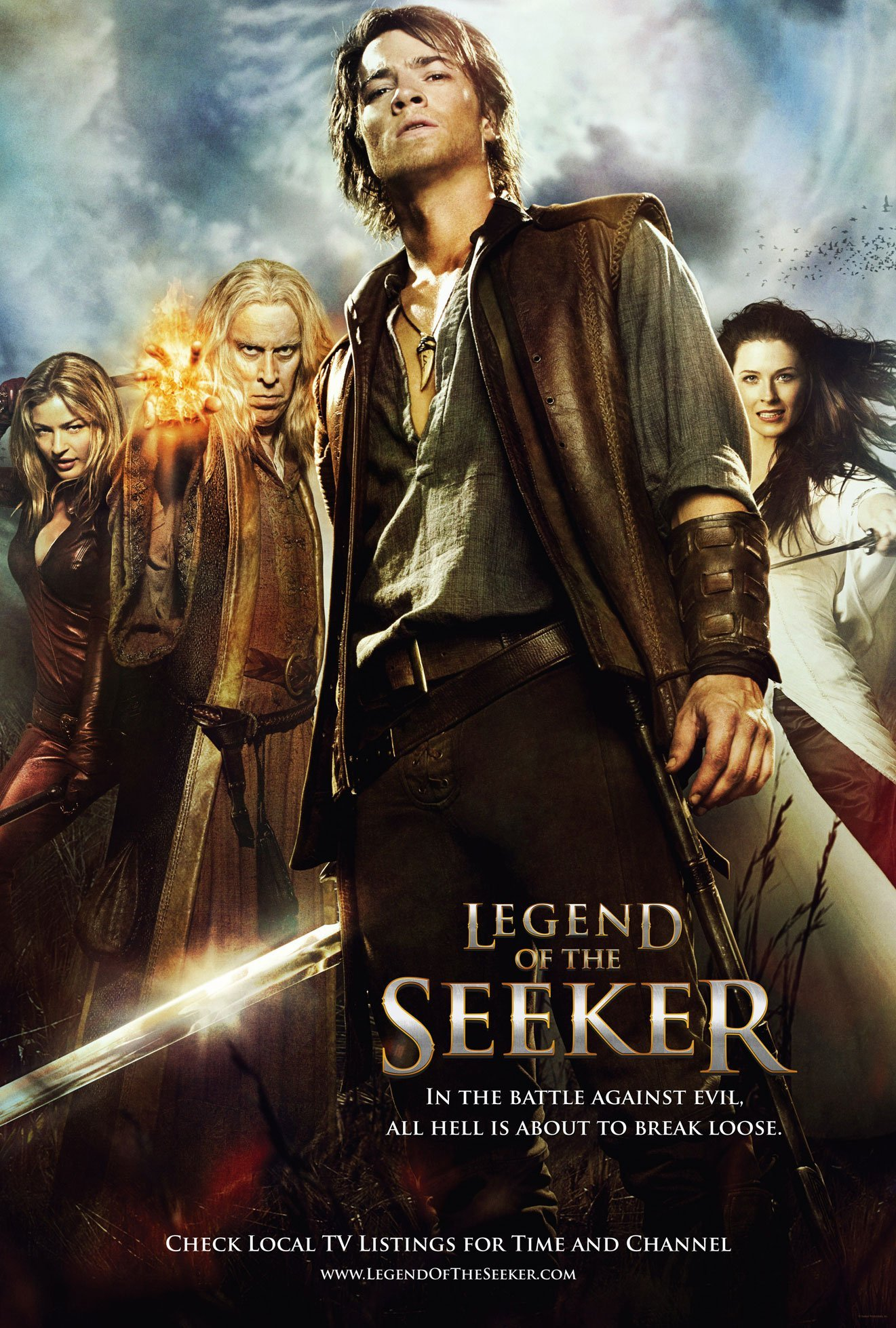 Legend of the Seeker: Main Characters