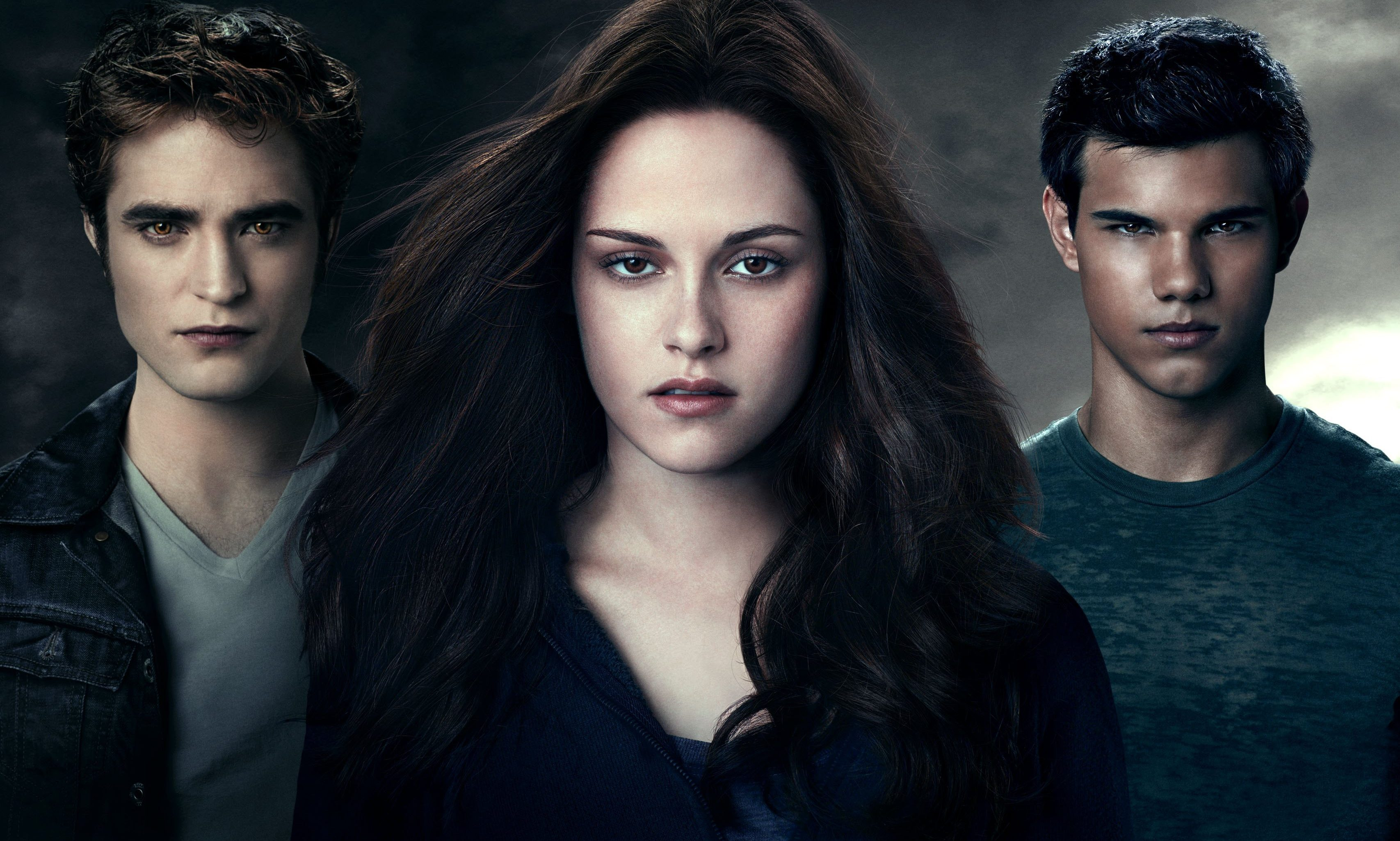 Twilight Saga: Eclipse. Edward, Bella and Jacob