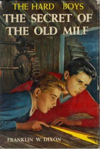 The Hardy Boys: the secret of the old milf. Book cover