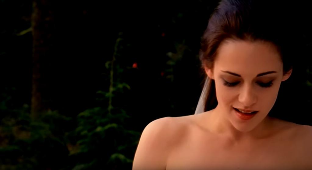 Kristen Stewart as Bella Swan in Breaking Dawn