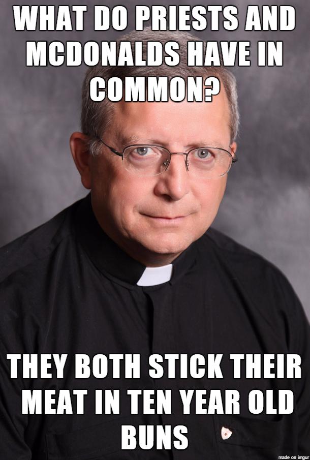 Molesting Priests Meme