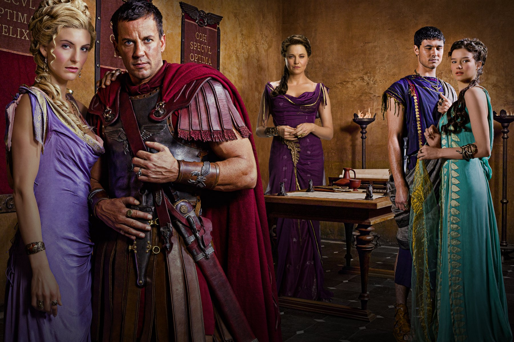 Spartacus: Vengeance. The Cast